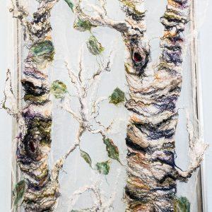 Birch shawl