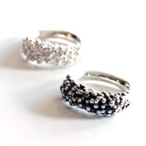 Sterling Silver Seed Ring by Melissa Pedersen