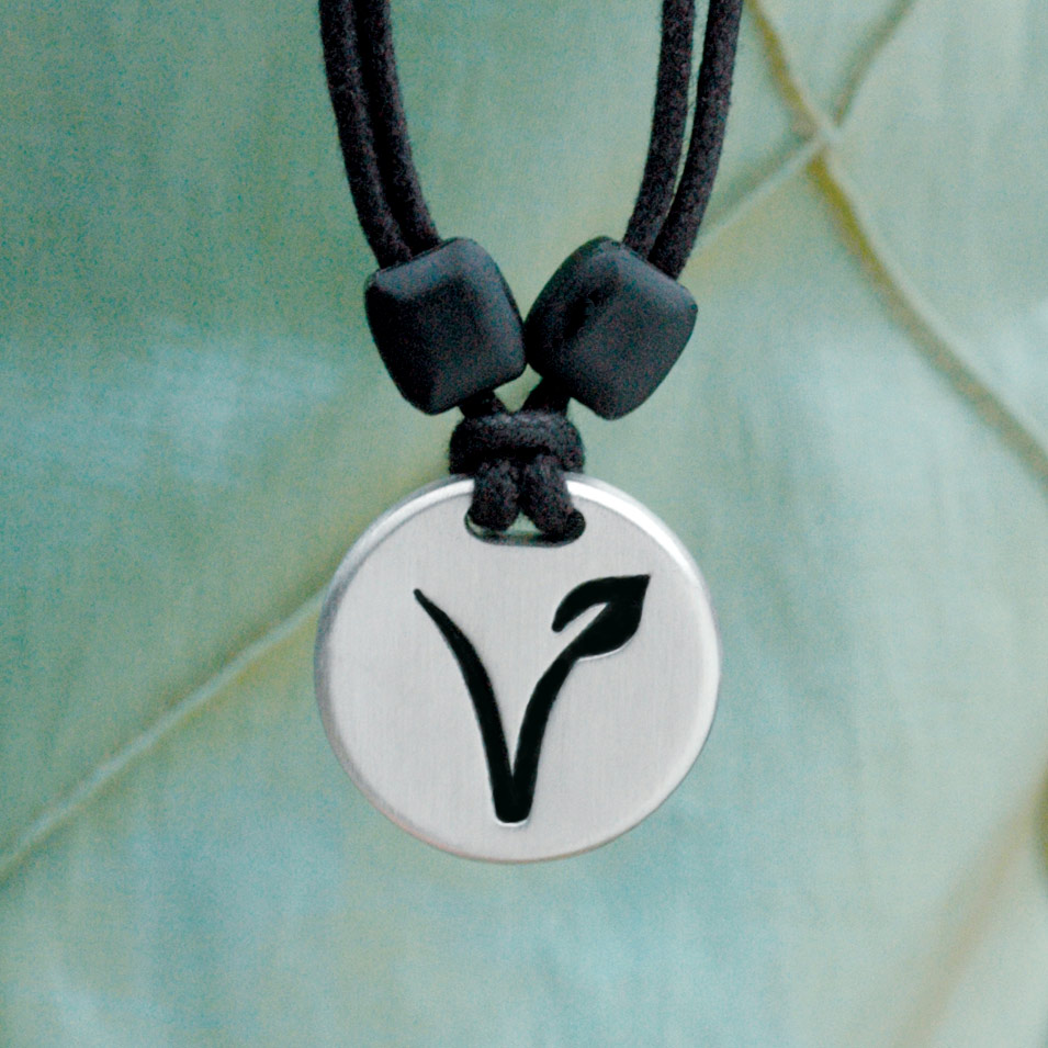 vegan pendant