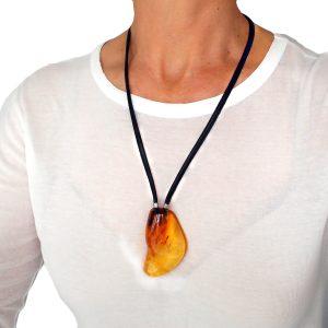 massive amber necklace